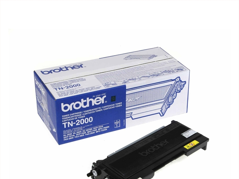 TONER Brother TN-2000 Nero